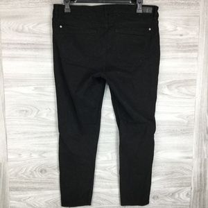 UNIONBAY Jeans - Supplies Black Anya Mid Rise Skinny Jeans
